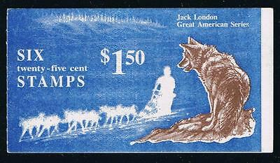 US BK151 (1988) - Jack London - Complete Booklet Postage Stamp Issue