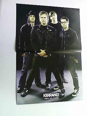 Angels And Airwaves   The Used      Double Page Poster  LMH4