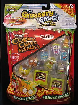 New! The Trash Pack - The Grossery Gang - 10 Grosseries in a Pack