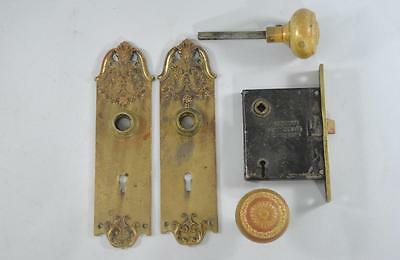 Antique Victorian Door Hardware French Style Sargent Company Circa 1880's