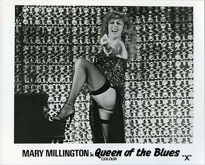 Mary Millington Queen Of The Blues Original Lobby Card Still Photo Striptease