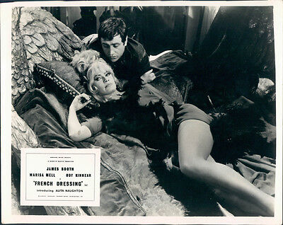 French Dressing Original Lobby Card Marisa Mell Leggy Photo James Booth