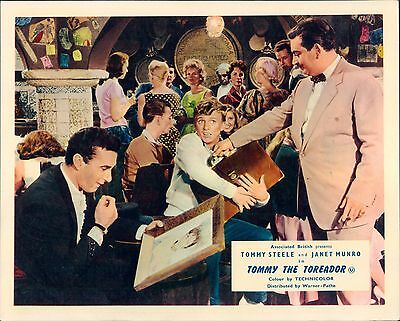 Tommy The Toreador Original Lobby Card Tommy Steele 1959