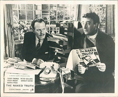 Naked Truth Peter Sellers Terry-Thomas Lobby Card British Front Of House
