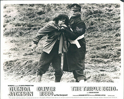 The Triple Echo Original Lobby Card Oliver Reed Brian Deacon
