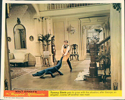 Happiest Millionaire Tommy Steele Disney Lobby Card