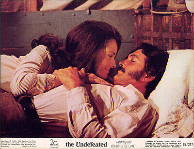 The Undefeated Lee Meriwether Rock Hudson Original Us 8X10 Lobby Card