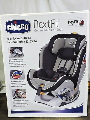 New Sealed Chicco Nextfit Convertible Car Seat Child Safety Baby