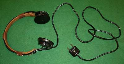 NEW_OLD_High_Impedance_(Z=1200 Ohms)_Military_Headphone_[=T=]