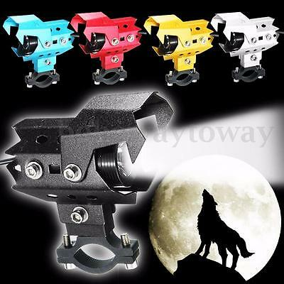 Motorcycle U8 125W White LED Driving Fog Head Spot Light For BMW NEW