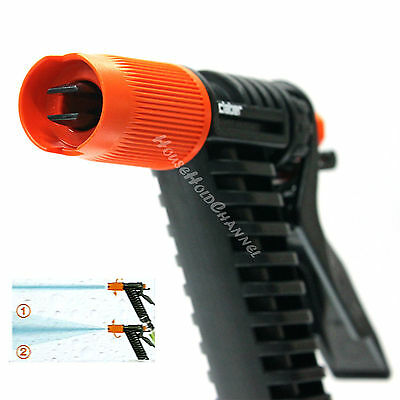 "Claber Italian-Made Hose Nozzle Watering Pistol with 1/2"" automatic coupling"
