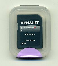 carte gps tomtom europe renault