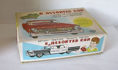 Repro Box 6 Assorted Cars