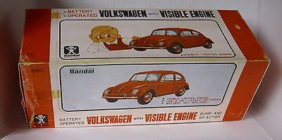 Repro Box Bandai Volkswagen with Visible Engine