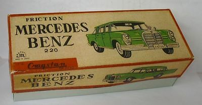 Repro Box Cragstan Mercedes Benz 220 Friction