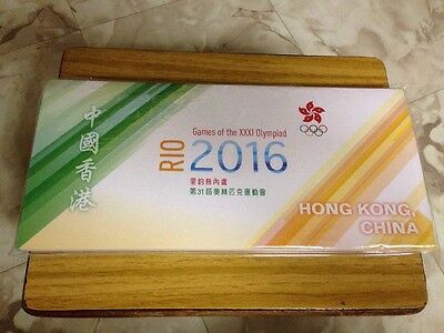 2016 RIO Olympic Games Special First Day Cover With Olympic Games Pin Souvenir