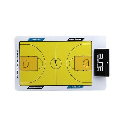 Basketball Tactic Coaches Erase Play Board Double Erasable Sided Coaching W/Pen