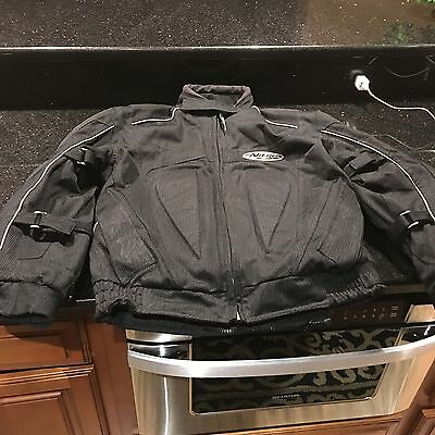 Men's Nitro Racing Padded Protective Motorcycle Riding Jacket XS Cruiser