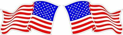 "America's Flag Aircraft Sticker/Decal 8"" wide!"