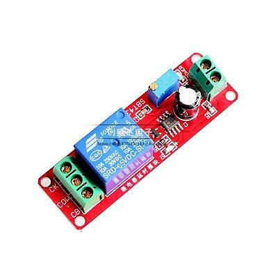 1/2/5/10 PCS DC 5V Delay relay shield NE555 Timer Switch Adjustable Module 0~10S