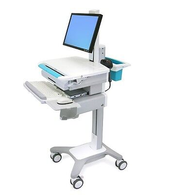 ERGOTRON SV31-31001 - StyleView LCD Non-Powered Medical Laptop Cart