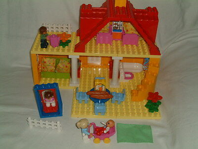 lego duplo 5639 family house 100 complete without. Black Bedroom Furniture Sets. Home Design Ideas