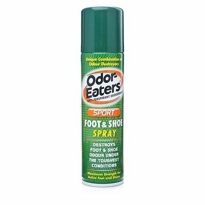Odor-Eaters Sports Foot & Shoe Spray (150ml) Free UK Delivery