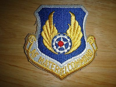 US Air Force MATERIEL COMMAND Patch