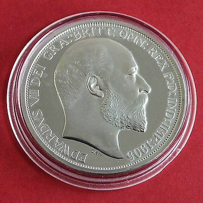1905 Edward Vii Silver Proof Pattern Crown