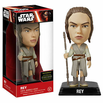 Star Wars - The Force Awakens - REY - Bobble Head - Funko - New in Package