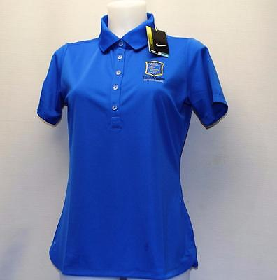 New Ladies Nike Golf Dri Fit polyester short sleeve polo shirt NWT Medium