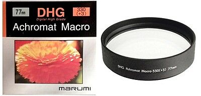 Marumi 77mm 77 DHG Macro +3 330 Achromat Achromatic Close up Lens made in Japan
