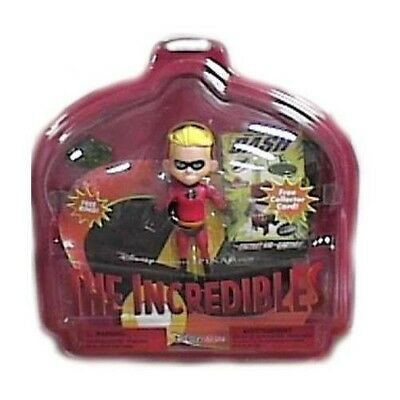 Pixar Disney Studios The Incredibles Rare Boy Dash Action Figure +Ring +Card New