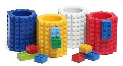Build On Brick Adult 4 Shot Glass Set Compatible Mega Bloks Kre-O K'nex  Bricks