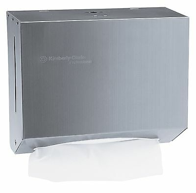 Kimberly-Clark Professional 09216 Stainless Steel Compact Paper Towel Dispenser