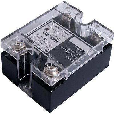 5X(SSR Solid State Relay SSR 48-480V AC 25A HY