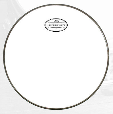 CHAOS MONARCH WHITE DRUM HEAD 2 PLY WHITE - SIZES AND PACKS evans remo g2 ec2