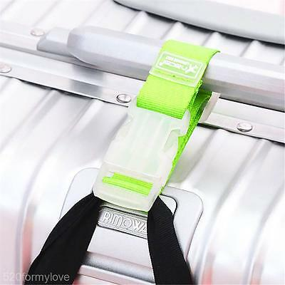 Travel Portable Suitcase Hanging Buckle Holder Luggage Strap Belt Anti-lost Clip