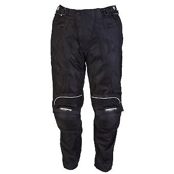 Spada Mito Waterproof Motorcycle Motorbike Textile Pants Trousers - Black - Sale