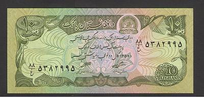 AFGHANISTAN  -  10  AFGHANIS   1979    -  P 55a   Uncirculated Banknotes