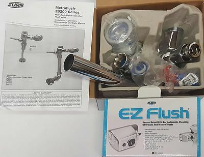 Zurn ZER6200-WS1.0005 Metroflush Piston-Operated Flush Valve& ZERK-CPM Sensor