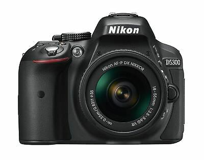 Nikon D5300 Digital SLR Camera with 18-55mm VR II AF-P Nikkor Lens