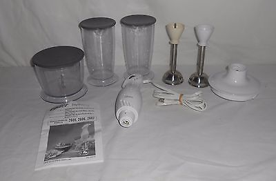 Oster Inspire Hand Blender with Blending Cup and Chopper Model #2605