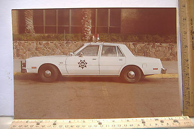 ~Arizona Highway Patrol Car~Vintage 8 X 12 Color Photo~