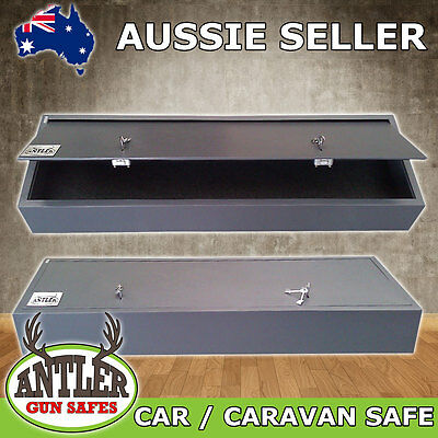 Gun Safe Car Caravan Firearm Rifle Storage Steel Cabinet
