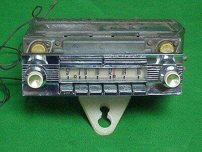 1958 1959 58 59 FORD Fairlane Galaxie Town & Country WONDER BAR AM Radio WORKS!!