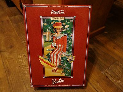 1997 Mattel--Coca Cola After The Walk Barbie Doll (New) W/ Certificate