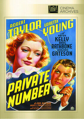 Private Number [New DVD] Manufactured On Demand, Black & White, Full Frame, Mo
