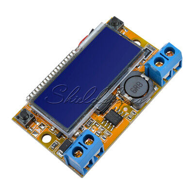 DC-DC Adjustable Step-down Power Supply Module Voltage Current LCD Display +Case