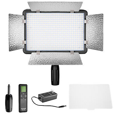 Neewer LED 500 Ultra High Power Dimmable Video Light with Built-in LCD Panel